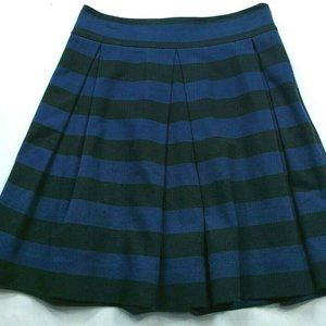 Kate Spade New York A Line Pleated Skirt 2 Striped